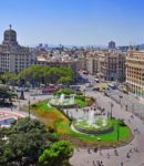 barcelona-spain-august-aerial-view-placa-catalunya-august-barcelona-spain-square-considered-to-be-city-center-30305517