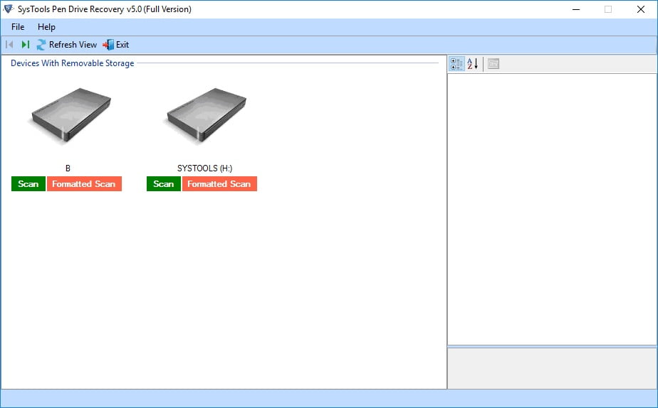 SysTools Pen Drive Recovery Tool