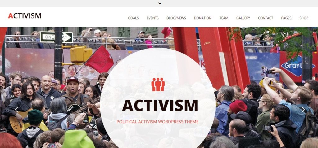Activism Premium WordPress Theme