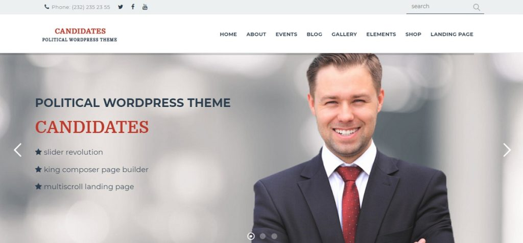 Candidates Premium WordPress Theme