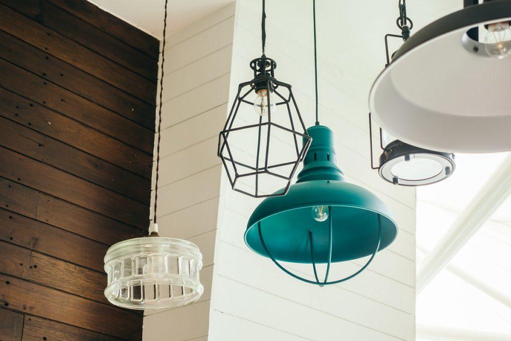Vintage ceiling light lamp