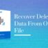 Recover Deleted Data From OST File