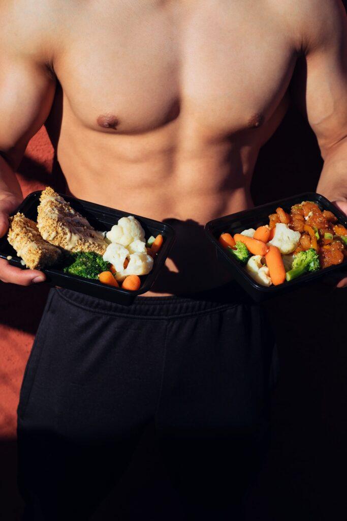 correct diet = good body