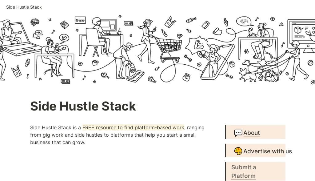 Side Hustle Stack